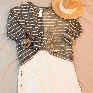 2 FOR $30. 🆕 Anthropologie Stripe Sweater. BNWT